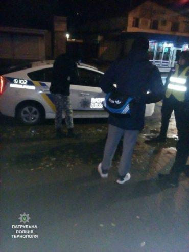 Патрульні затримали двох неповнолітніх, яких підозрюють в крадіжці