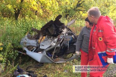 На Кременеччині у аварії загинуло троє людей
