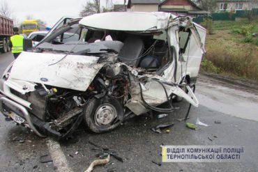 У селі Кровинка Теребовлянського району не розминулися два автомобілі