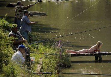 Поки житель Шумщини рибалив у нього викрали мопед