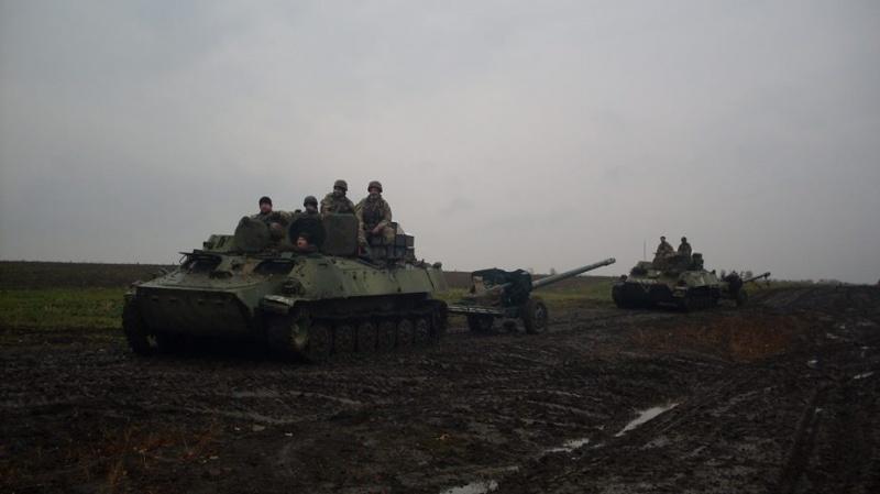 Загострення взоні АТО: двоє військових загинули, троє постраждали