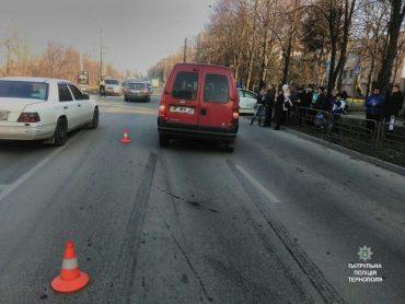 На вулиці Тарнавського водій Fiat збив 10-річного хлопчика на пішохідному переході