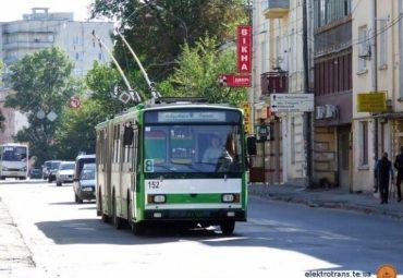 """Тролейбус №8 у Тернополі у неділю не курсуватиме до зупинки """"Газопровід"""""""