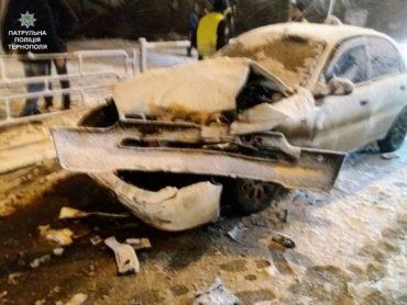 Патрульні розшукали водія, який втік з місця ДТП