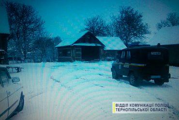 П'яний зумів, а комунальники ні: житель Дедеркал Шумського району почистив сільські дороги від снігу на краденому тракторі