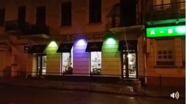 У центрі Тернополя лунає російська лайка і шансон з кафе Франс.уа