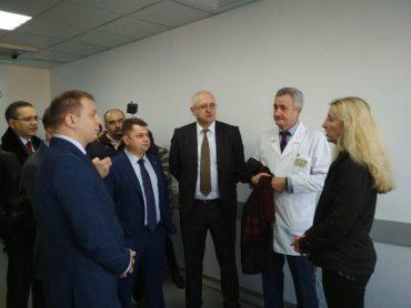 У центр медичної корупції Тернопільщини завітала в.о. міністра охорони здоров'я України Уляна Супрун