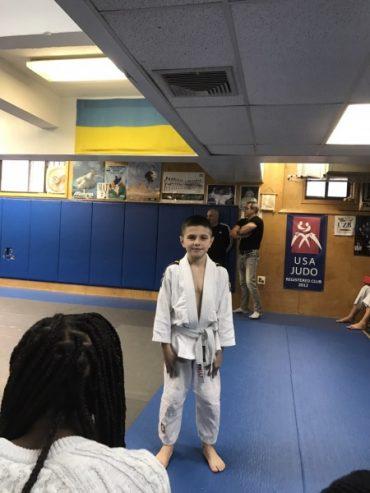 Назар Машлянка підтвердив клас на клубному чемпіонаті Нью-Йорка з дзюдо