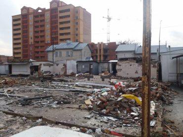 Як у Тернополі підприємців викидають на вулицю