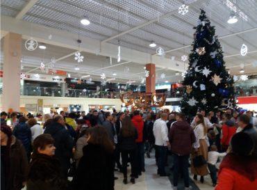 У Тернополі провели різдвяний флешмоб
