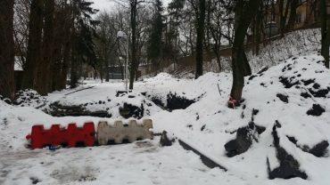 У парку імені Шевченка черговий організаційний бедлам з ремонтами