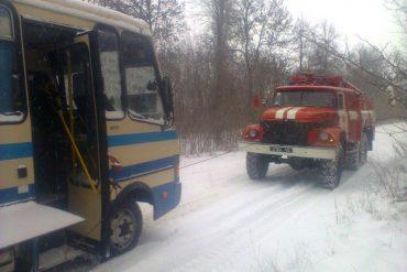 У Берем'янах пожежники врятували автобус