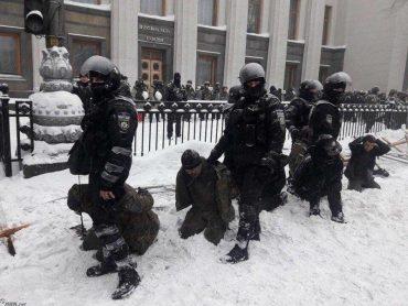 Заява українських націоналістів з приводу силового розгону акції протесту біля Верховної Ради України