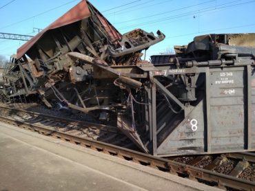 На Львівщині перекинулися товарні вагони, потяги запізнюються