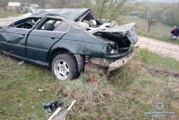 Водій, який вчинив ДТП в Бучацькому районі, хотів обдурити поліцію