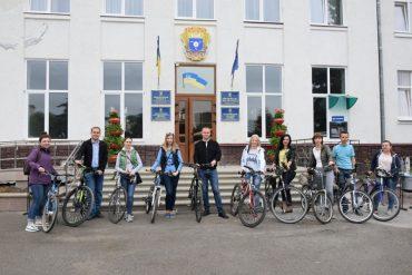 """У Чортківській міській раді 15 травня стартувала акція """"Велосипедом на роботу"""""""
