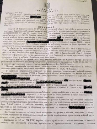 Вбити громадський рух Тернополя – завдання для правоохоронних органів