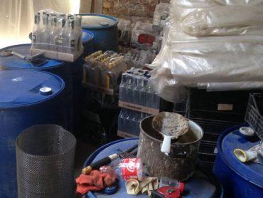 На Тернопільщині припинено діяльність підпільного цеху, де виготовлено фальсифікат на 3 мільйони гривень