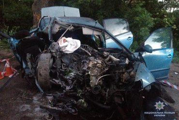 На Тернопільщині в аварії загинули люди