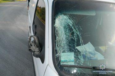 У Чортківському районі водій іномарки збив велосипедиста