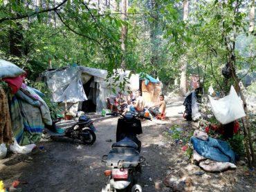 У Києві цигани захопили національний парк під табір