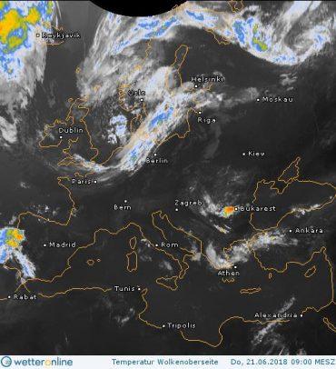 22 червня в Західній Україні похолодає до 16 градусів