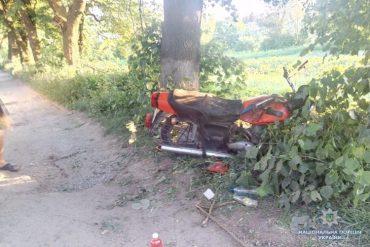 За два дні жертвами аварій на Тернопільщині стали два мотоциклісти