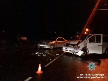 Одне ДТП та двоє травмованих: наслідки нічного водіння