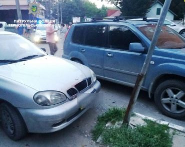 У Тернополі, на вулиці Протасевича, сталася ДТП