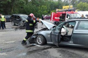 У Тернополі сталося ДТП з трьома потерпілими