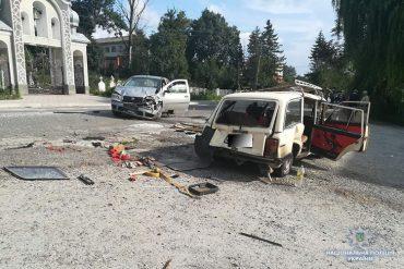 На Тернопільщині у ДТП травмувалися діти
