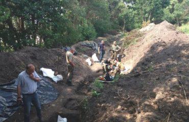 На Тернопільщині знайшли масове поховання воїнів УПА