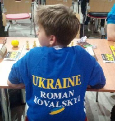 Юний український шахіст дотепно потролив росіянина
