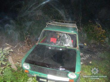 На Тернопільщині водій у стані алкогольного сп'яніння смертельно травмував перехожого