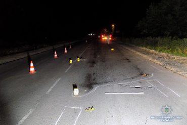 Водія автомобіля, який збив перехожого та втік, знайшли слідчі Тернопільщини