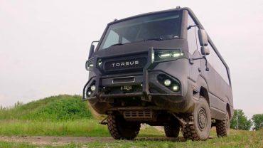 Українська компанія Pulsar Expo створила автобус-позашляховик Torsus Praetorian