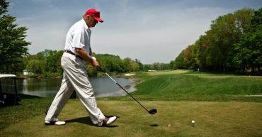 Трамп програв у гольф третину свого президентства
