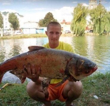 У Ланівцях впіймали гігантську рибу