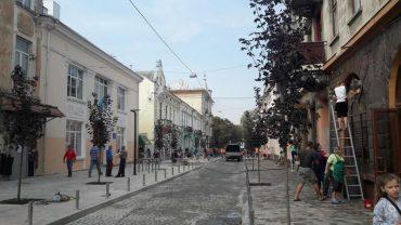 Щоб Гройсман відкрив реконструйовану вулицю Чорновола в Тернополі її мили і облаштовували у велике релігійне свято