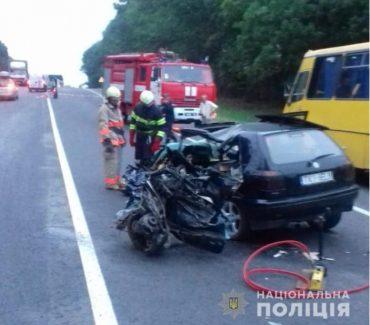 У автопригоді біля Зборова загинули люди
