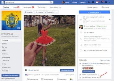 """На сторінку тернопільської інтернет-газети """"Про все"""" підписалось 120 тисяч читачів Facebook"""