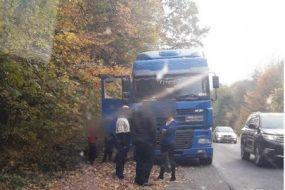 Патрульні виявили нетверезого водія вантажного автомобіля