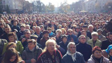 Акція проти завищених тарифів на проїзд у громадському транспорті Тернополя отримала всеукраїнський резонанс
