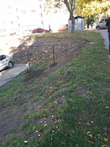 У Тернополі встановили екотріпачок, але ні мер Тернополя, ні посол з США не приїхали на відкриття