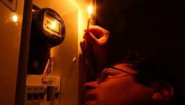 У Тернополі на Новий рік зникло світло у центрі міста