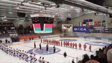 """У Норвегії, на хокейному турнірі, білоруську збірну привітали не гімном, а піснею """"Косив Ясь конюшину"""""""