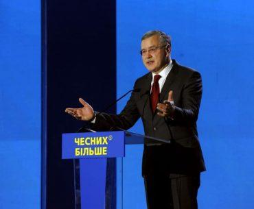 Передвиборча програма Анатолія Гриценка: що буде і чого не буде?