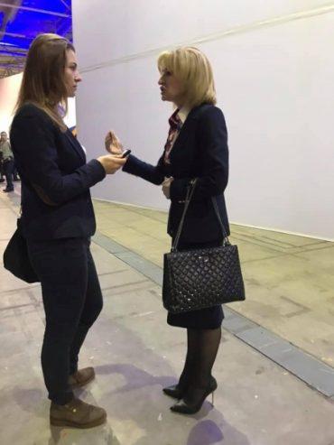 Ірина Луценко прийшла на з`їзд Порошенка з сумкою Valentino вартістю 3295 доларів