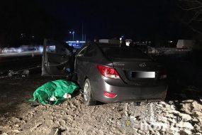 Три автомобіля зіткнулися в вечірній аварії на Тернопільщині: один чоловік загинув