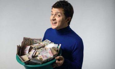 Володимир Зеленський отримав першу зарплату – 28 тисяч гривень